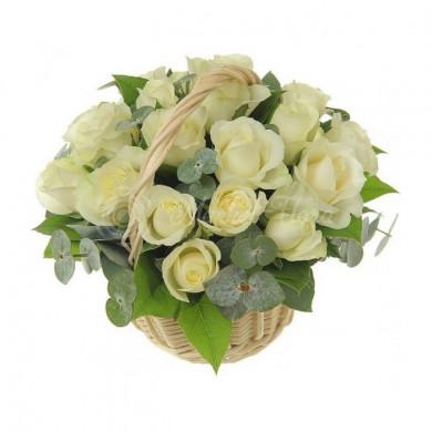 Корзина цветов «Седьмое небо»